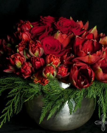 Büyülü Aşk Kırmızın Güzelliği