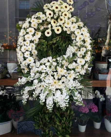 Çift Göbekli Cenaze Çelengi