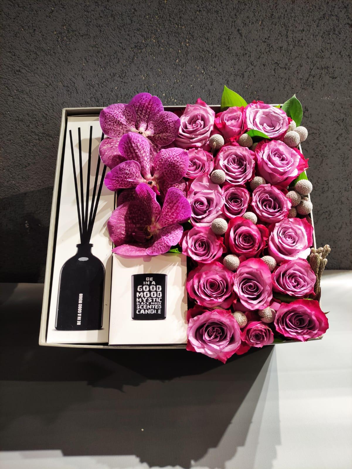 Güller Çubuk Koku ve Mum